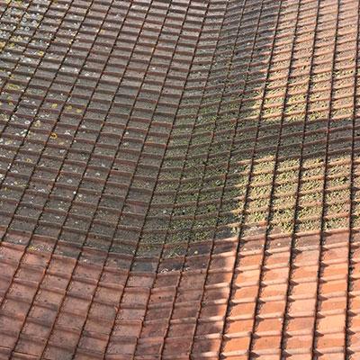 schoonmaak dak 2