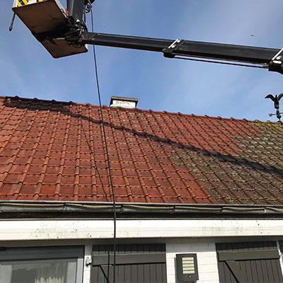 schoonmaak dak 1